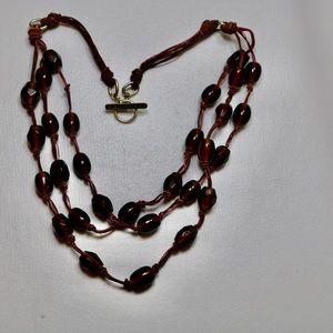 Sigrid olsen glass beaded Necklace